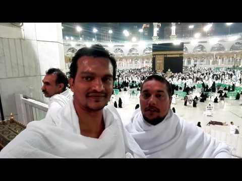 Tangeem haider with Aslam umrah