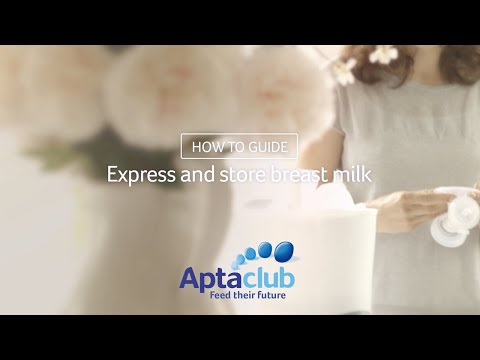 Techniques for Storing  Expressing Breast Milk - Aptaclub
