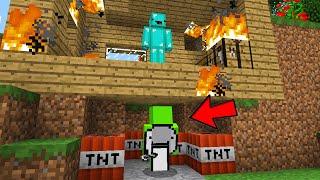 So I Hacked Dreams Account To Destroy Skeppys Minecraft Server..