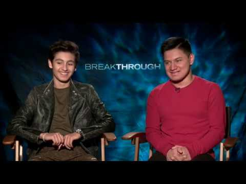 Interview with John Smith & Marcel Ruiz from Breakthrough (The Movie)