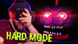 Hard Mode Is MUCH Scarier In Five Nights At Freddy's VR (FNAF VR)