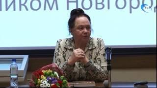 В Музее изобразительных искусств состоялась встреча с новгородским историком Людмилой Секретарь