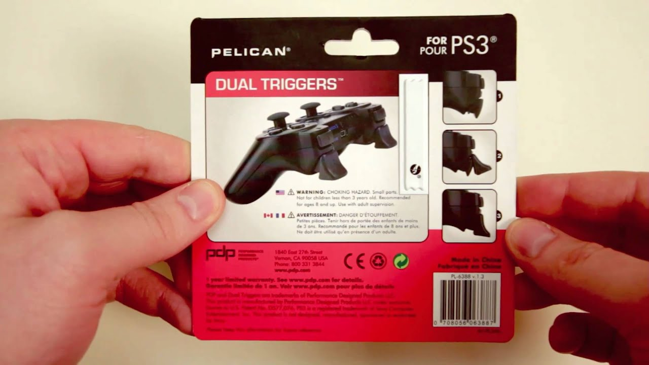 Pelican PS3 Triggers Unboxing (GET MORE KILLS!) thumbnail