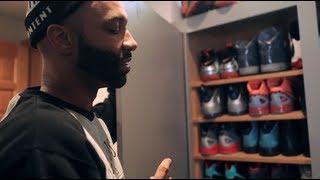 """A """"Sneak Peek"""" Inside Joe Budden's Sneaker Closet"""