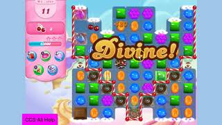 Candy Crush Saga Level 3993 18 moves NO BOOSTERS