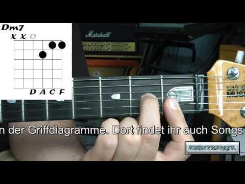 Gitarre lernen - die Akkorde - Dm7