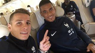 L'Equipe de France à Bari