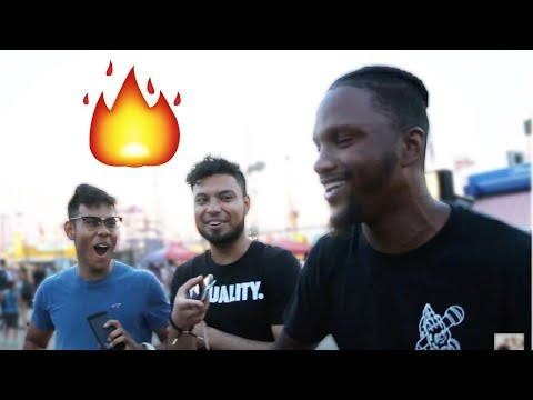 Asking Random People to Freestyle on Beats PART 2! (Feat. Heze Pioneer)