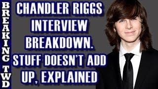 [BREAKDOWN] Chandler Riggs's Honest Interview| Gimple's Words | The Walking Dead Season 8 Episode 8