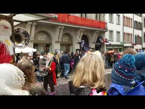 Basler Fasnacht 2017/ Cortege Gasse Jäter