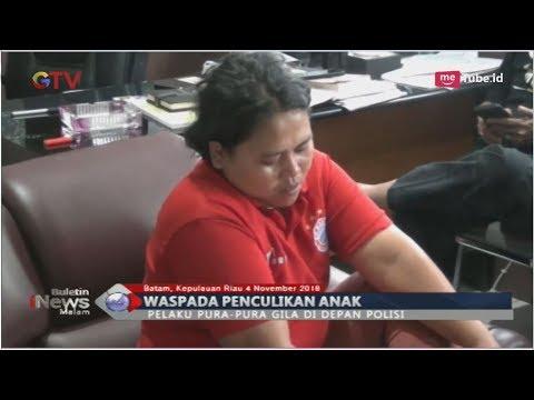 Culik Bayi di Batam, Wanita Asal Cianjur Pura-Pura Gila saat Ditangkap Polisi - BIM 05/11