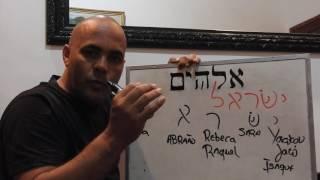 Aula de Hebraico Moreh Wallace
