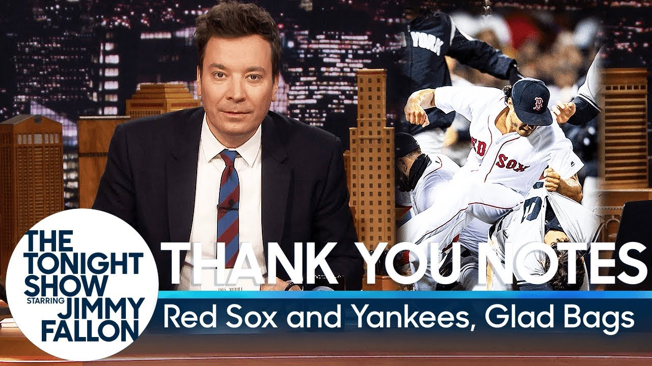 Thank You Notes: Red Sox and Yankees, Glad Bags thumbnail