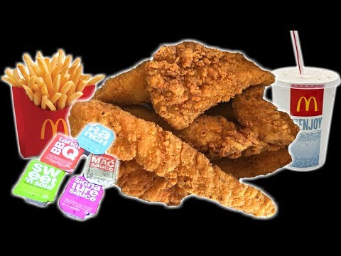 McDonald's NEW Buttermilk Crispy Chicken Tenders - WHAT ARE WE EATING?? - The Wolfe Pit
