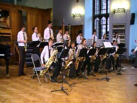 Joint Jazz Band performs Hit the Bricks at Girls' Summer Concert