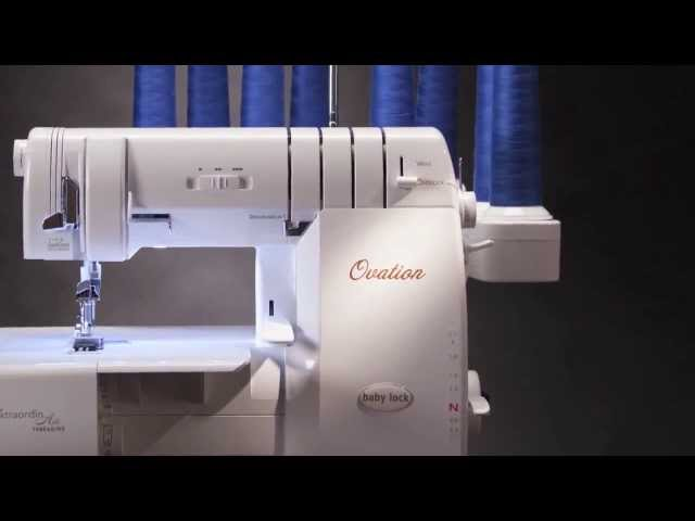 Babylock Ovation Serger BLES40 Enchanting Ovation Sewing Machine
