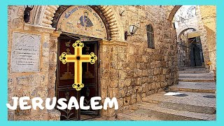 JERUSALEM: Actual site ✝️  of The last Supper with Jesus and His Apostles