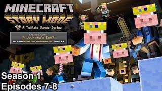 THE FINAL SHOWDOWN (Minecraft Story Mode Season 1)