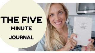The Five Minute Journal how it works!