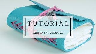 Handmade Leather Journal Tutorial