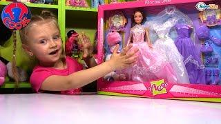 Кукла Ася. Распаковка и обзор куклы с аксессуарами от Ярославы. Игрушки для детей. Tiki Taki Cook