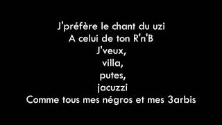 Kaaris - A l'heure ( Lyrics/Paroles )