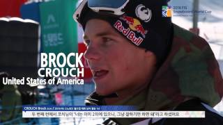 2016 FIS Snowboard World Cup: Slopestyle Finals And Athletes' Interview