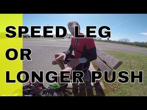 should i use speed leg or longer push ? (pascal briand vlog 131)