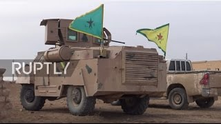 Syria: SDF fighters determined to fend off