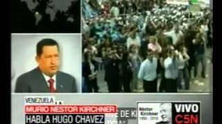 Chávez Nestor Kirchner Tenia Mucha Pasion Por Sudamerica