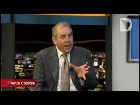 FIRENZE CAPITALE - Il presidente di Confindustria Firenze Simone Bettini intervistato a Tommaso Tafi.