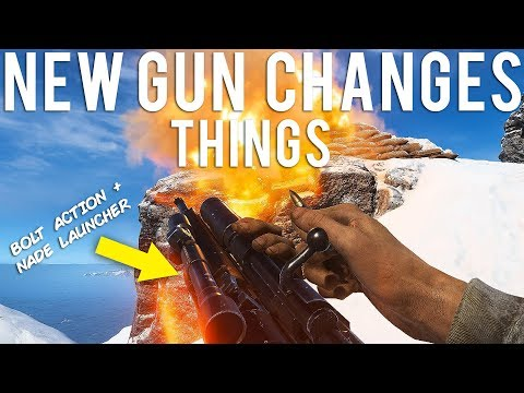 New gun changes things in Battlefield V
