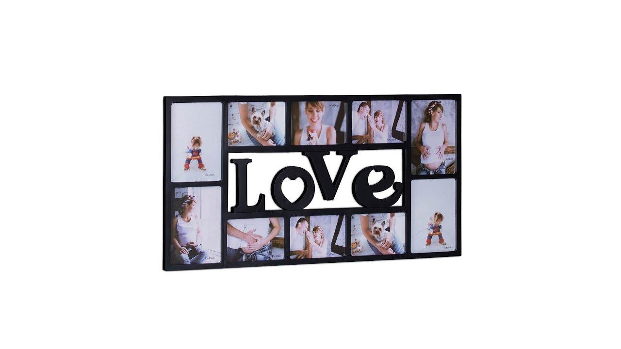 Bilderrahmen Collage Love online kaufen | relaxdays.de