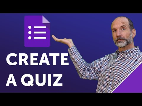 Google Forms - Create a Quiz