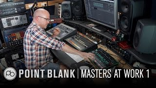 Masters at Work: James Wiltshire (Freemasons, Beyonce) Creating a Drum Track from Scratch - Pt1