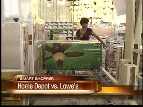 Home Depot vs. Lowes... Smart Shopper Showdown
