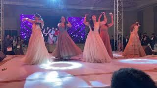 Best Friends Dance With Bride Best Sangeet Video Yaara Teri
