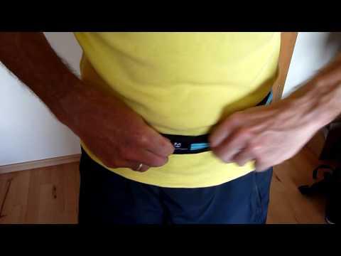Laufgurt »Run4Fun« Stilvolle Gürteltasche / Bauchtasche / Lauftasche für Laufen