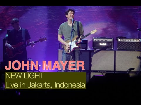 John Mayer - New Light (Live In Jakarta 2019)
