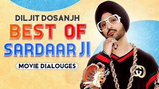 Best Of Sardaarji | Movie Dialogues | Diljit Dosanjh | Neeru Bajwa | Mandy Takhar | Speed Records