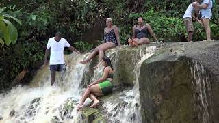 WHITEWATER FALL..ARUWAI RESORT ..ESSEQUIBO RIVER