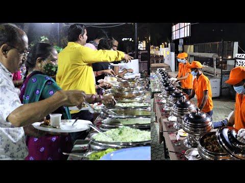 Full Dhamaal 😁 140 Rs Unlimited Buffet Dinner    Radhe Krishna Restaurant Bhavnagar