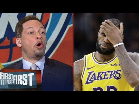 Chris Broussard react to Lakers destroy by Rockets 113-97; Lakers scared of the Blazers
