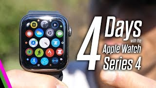4 Days with the Apple Watch Series 4 - Battery Life?!?