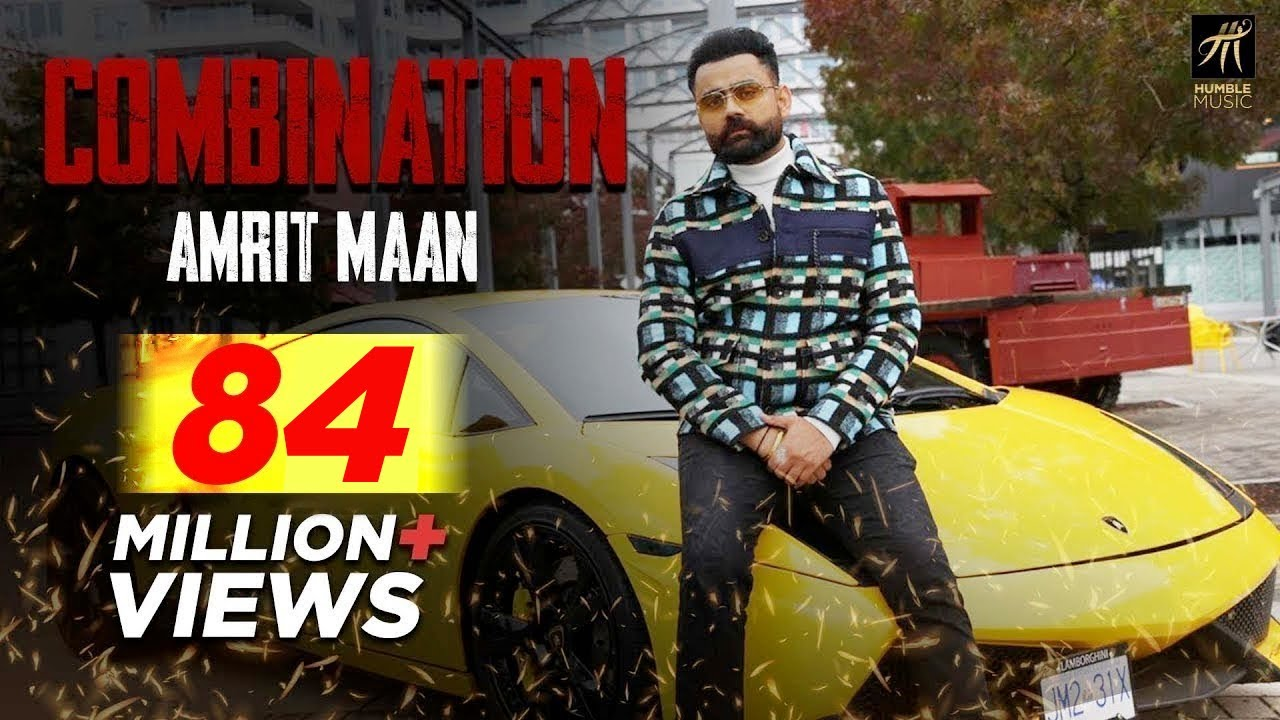 Combination Lyrics by Amrit Maan