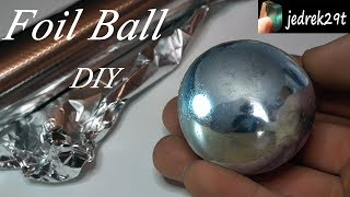 Polished Aluminum Foil Ball. DIY. Challenge/Kula z folii aluminiowej. - Video Youtube