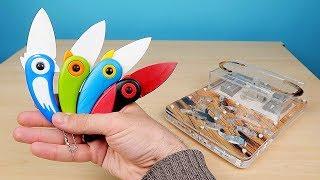 Новый Нож Птичка! Как живут муравьи с новым Декором и Конкурс! alex boyko