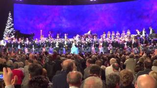 Andre Rieu Lomond & Clyde Pipe Band Glasgow 121212