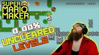 0 00% UNCLEARED LEVELS ARE FUN?! - Super Mario Maker