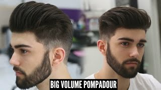 BIG VOLUME POMPADOUR - NEW BEST MENS HAIRSTYLE FOR 2020 - TUTORIAL
